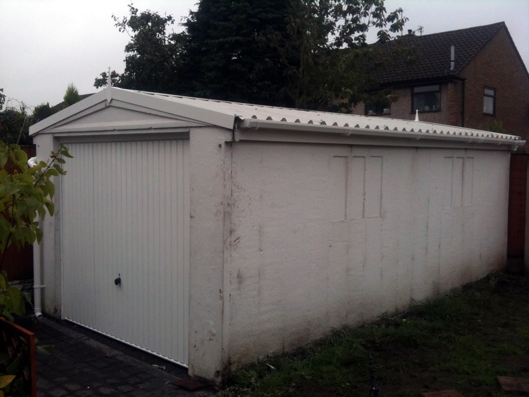 Asbestos Garage Roof Replacement Specialists Gsg